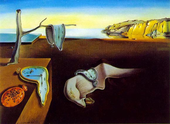 Salvador Dalí - The persistence of memory (1931)