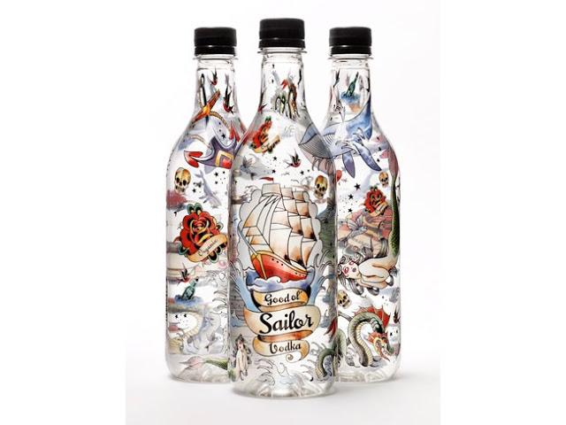 Vodka na garrafa de plastico - Good Ol'Sailor