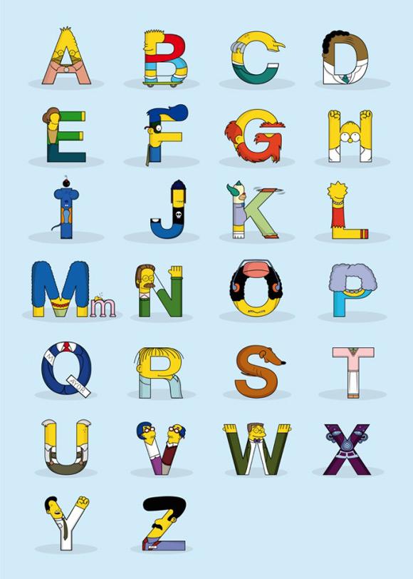Simpsons - Alfabeto