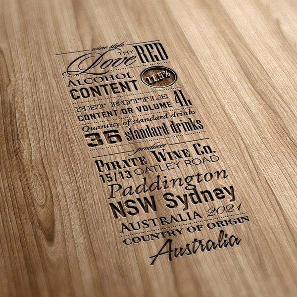 tipografia madeira