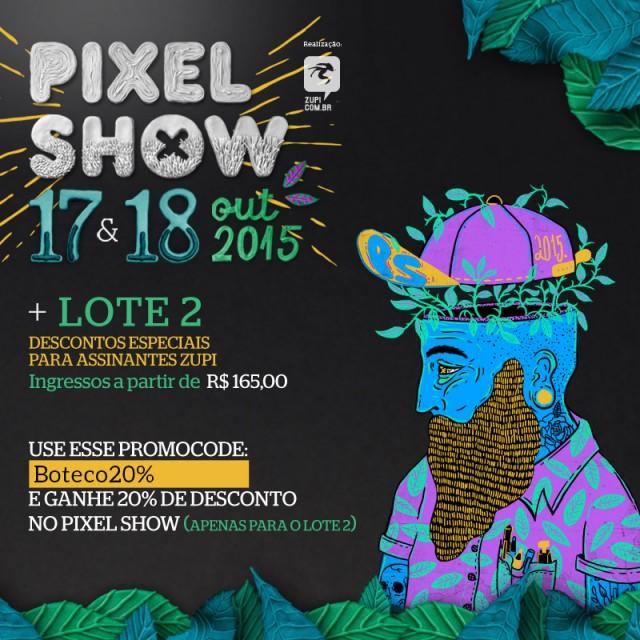 boteco pixel show 2015 promocode
