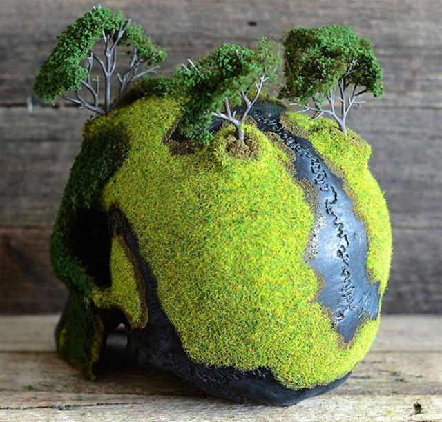 Jack of the Dust - caveira bonsai