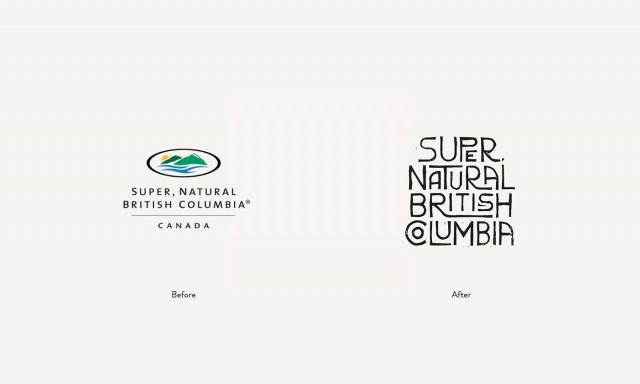 British Columbia - rebranding