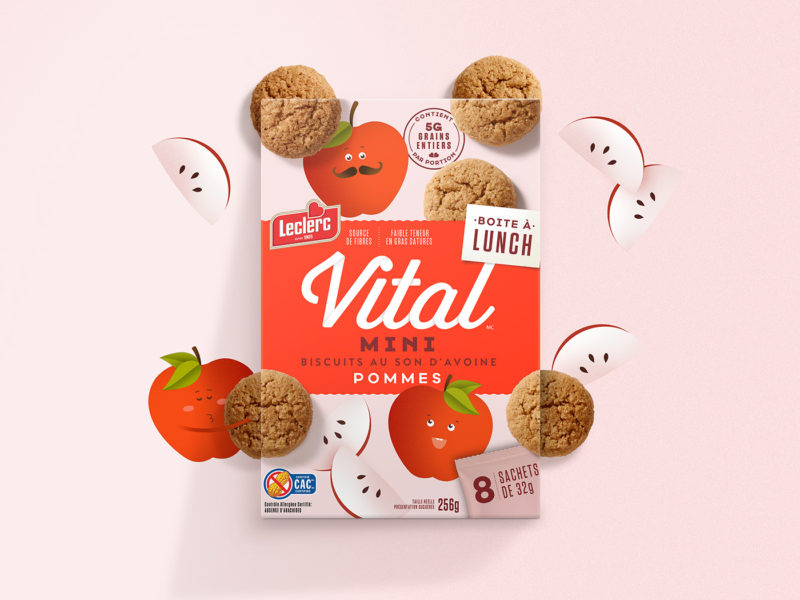 Vital mini - design de embalagem - Boteco Design