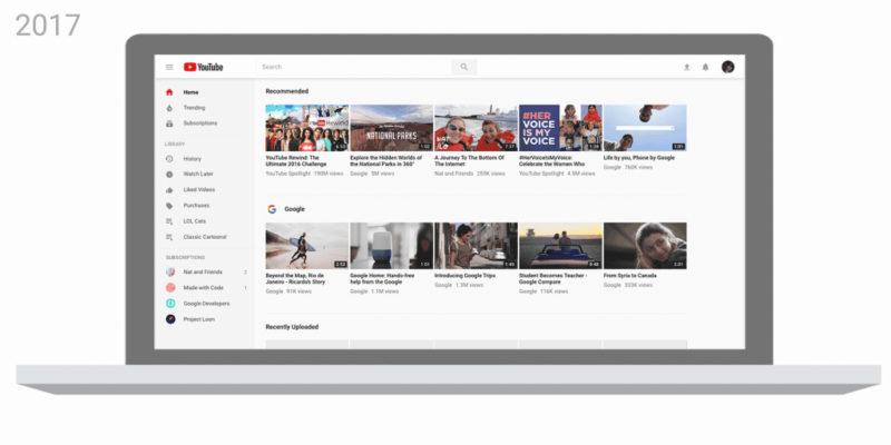 YouTube novo logo 2017 - Boteco Design