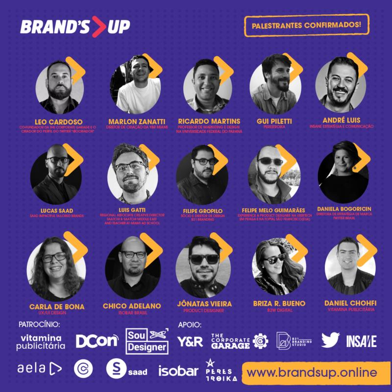 BrandsUp 2017 - Congresso Online Criatividade Inovação Estratégia Marcas - Boteco Design