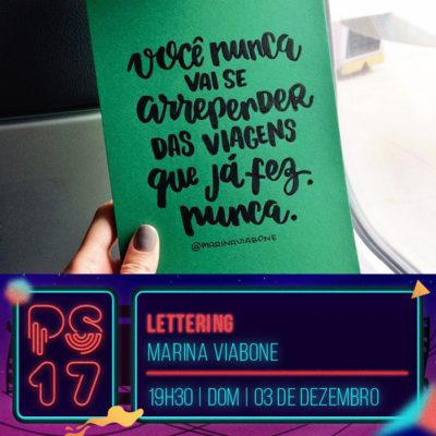 Pixel Show 2017 - workshop: Lettering - Marina Vibone - Boteco Design