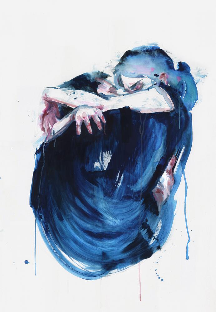 Silvia Pelissero - agnes cecile aquarela watercolor - Boteco Design