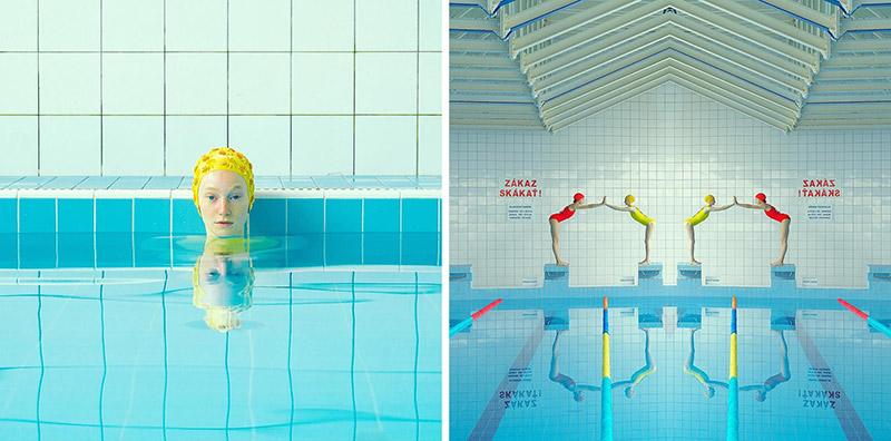 Swimmers Photographs - Mária Švarbová - Boteco-Design