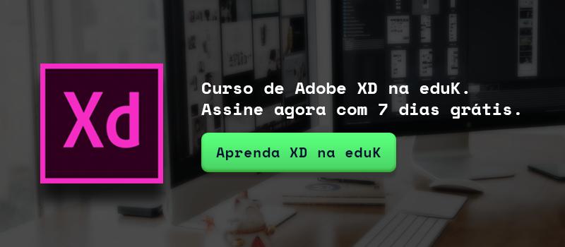 Curso de Adobe XD na eduk - Boteco Design