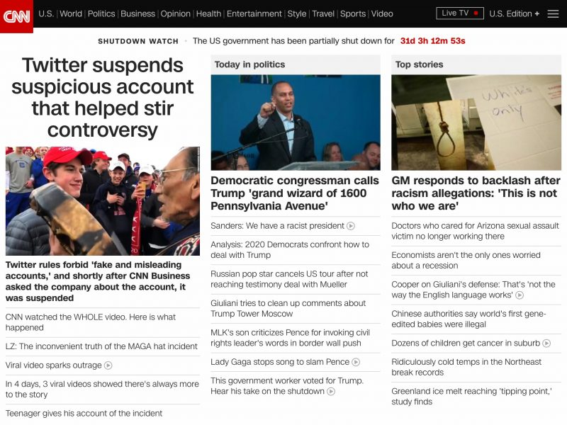 10 year challenge - sites CNN 2019