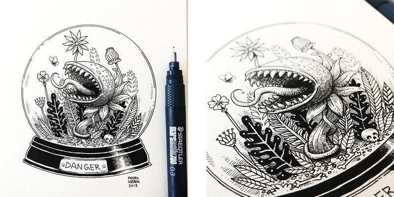 Pedro Correa - Moleskine - Ilustrator - Boteco Design