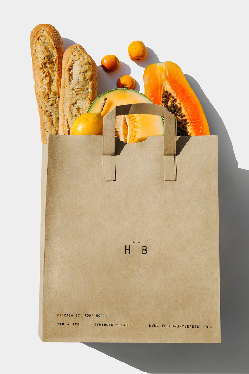 Hungry Beast - Branding - Boteco Design