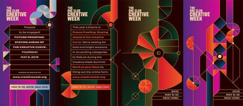 The One Club Creative Week - Identidade Visual - Boteco Design